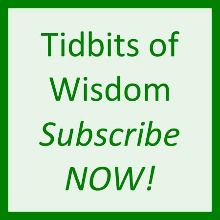 Subscribe to Tidbits of Wisdom